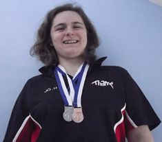 Jo Swims The Bracknell Masters